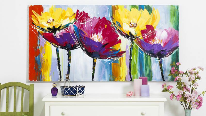 WESTWING | Quadri con girasoli: tela d\'artista in casaì