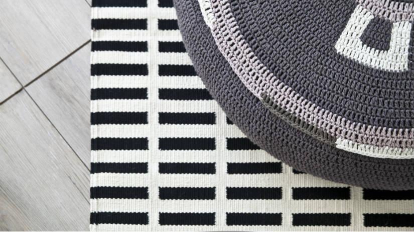 Tappeti scandinavi eleganti geometrie per la casa - Tappeti bagno grandi ...