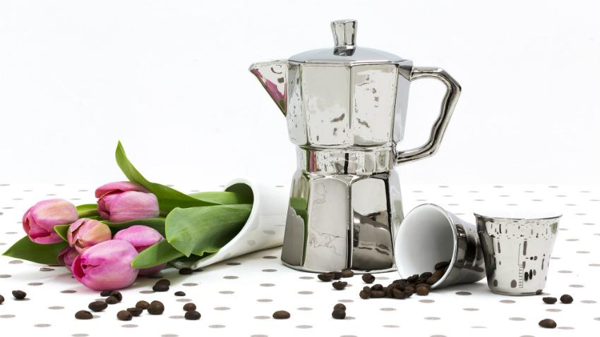 Tazzine da caffè di vetro