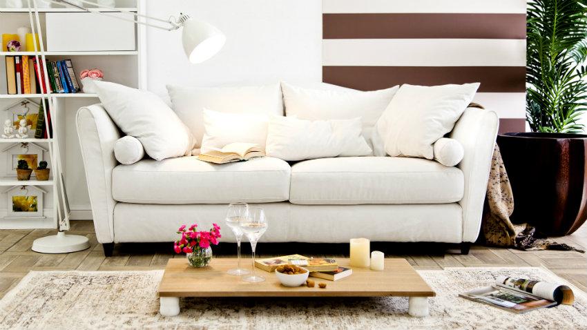 Divano letto 150 cm comfort per gli ospiti dalani e ora for Mobili design occasioni divani