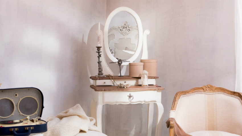 Specchio con cornice bianca eleganza ricercata dalani e - Specchio cornice bianca ...