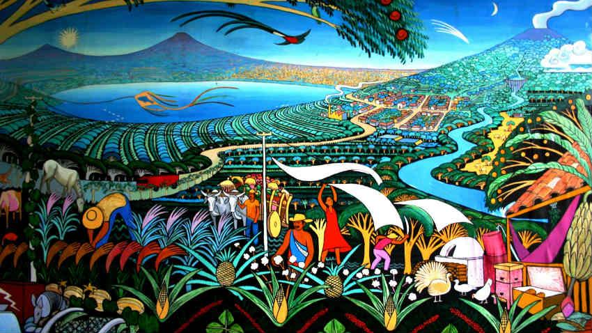 Carta Da Parati Foresta Tropicale : Carta da parati murales: street art per la casa dalani e ora westwing