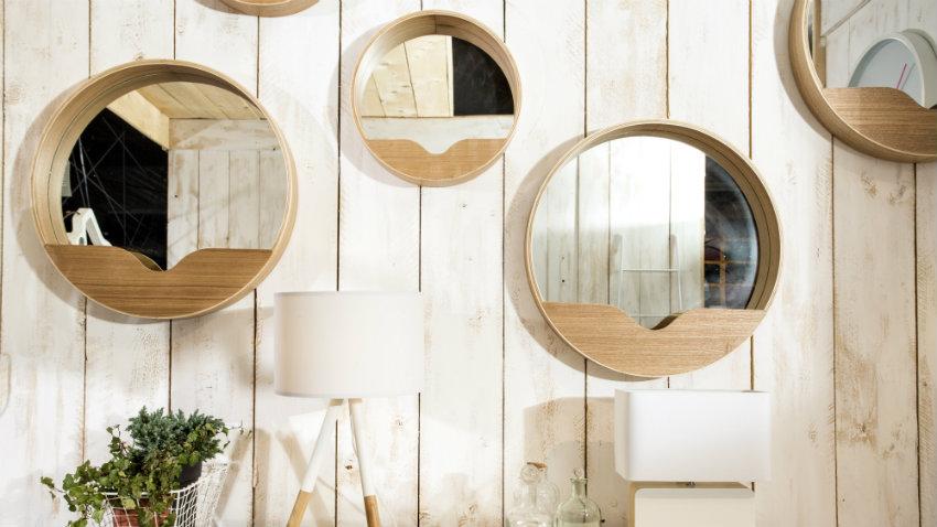 Specchi particolari accessori di stile dalani e ora westwing - Specchi rotondi da parete ...