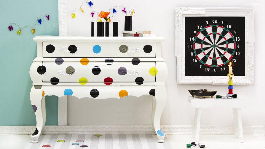 Stickers per mobili nuovo look al tuo arredo dalani e - Stencil adesivi per mobili ...