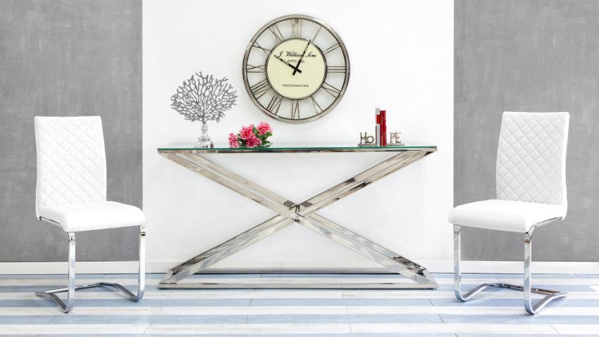 Tavoli in vetro accessori moderni e di design dalani e for Tavoli bianchi moderni