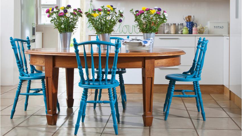 Tavolo in arte povera nuance classiche ed eleganti for Tavolo ovale legno grezzo