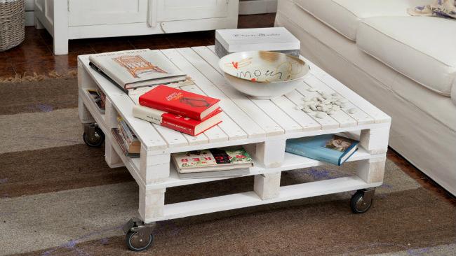 Come realizzare mobili con pallet riciclo creativo - Mobili con bancali di legno ...