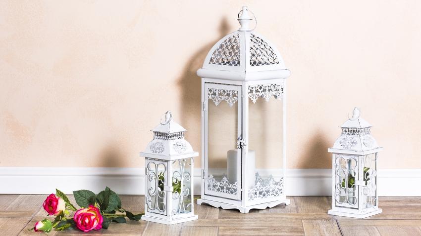 Lanterne Da Giardino A Muro : Luci da esterno in ferro battuto: lampada cilindrica da esterno con