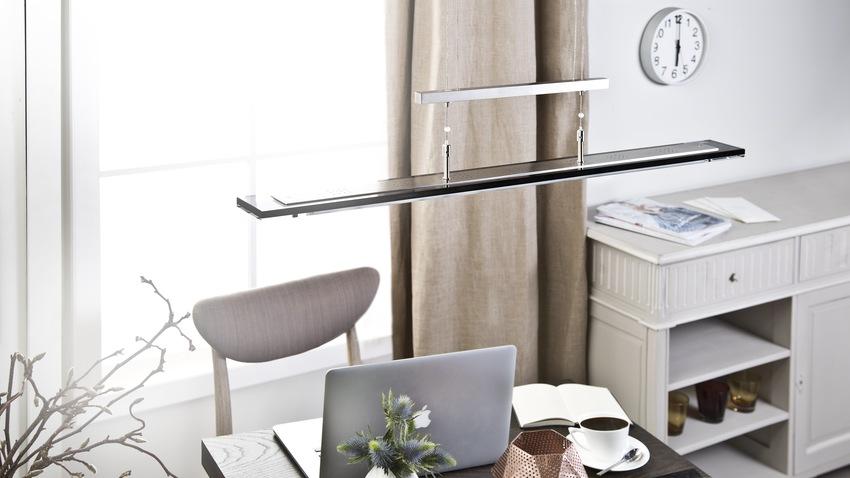 moderne hanglamp boven bureau