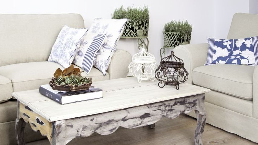 De stijlvolle houten salontafel westwing - Salon decoratie ideeen ...