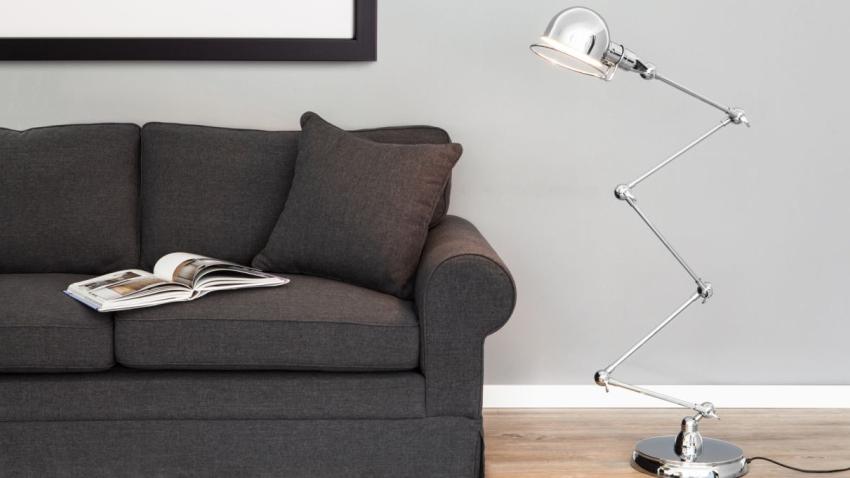 De stijlvolle industriele vloerlamp in jouw huis westwing for Industriele vloerlamp