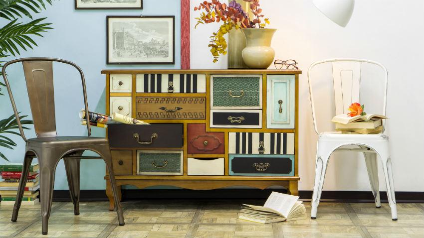 Go 39 70s met vintage meubels westwing for Interieur 1960