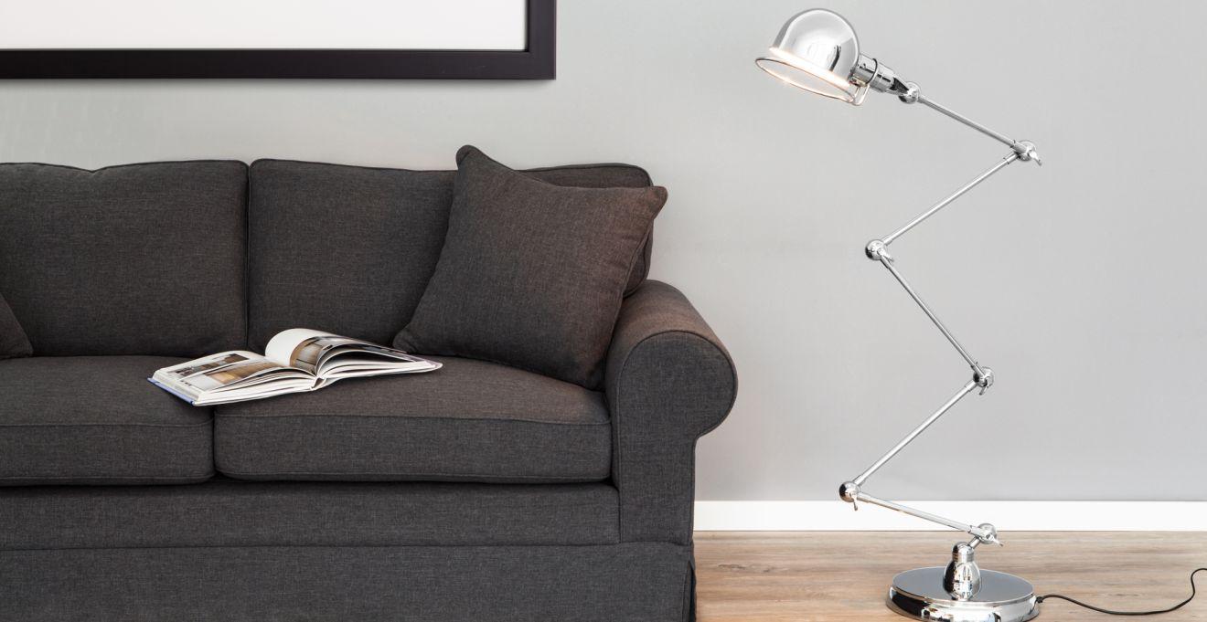 Een stoer licht met industriële lampen | Westwing