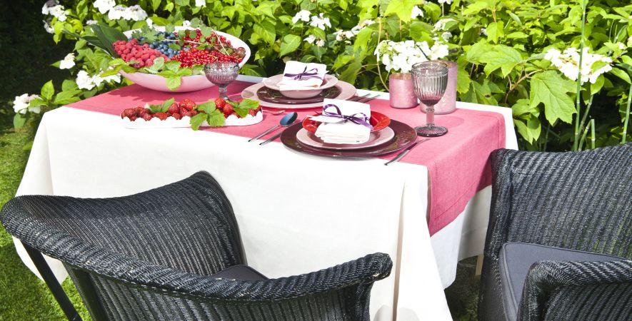Wicker tuinstoel
