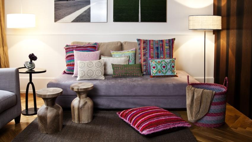 Pimp je interieur met een paars kleed! | Westwing