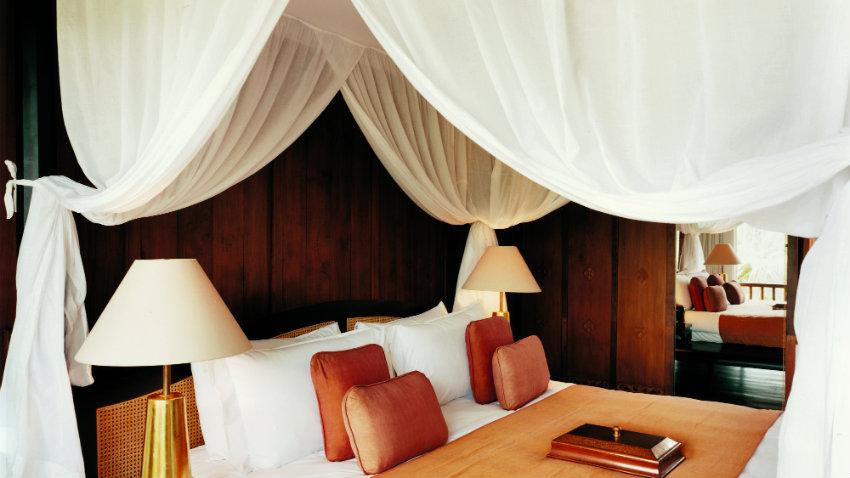 leren bed voor een stoere moderne slaapkamer westwing