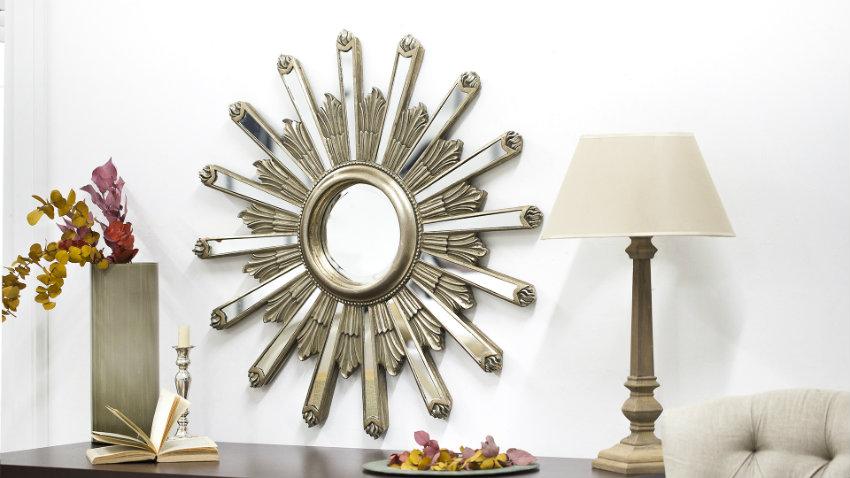 Shop hier je moderne spiegels met korting tot 70 westwing for Ronde plakspiegel