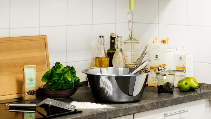 Shop hier je shiny terrazzo keukenblad mét korting | Westwing