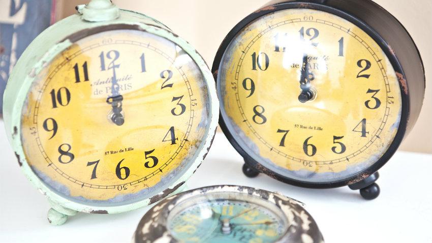 Art deco klokken
