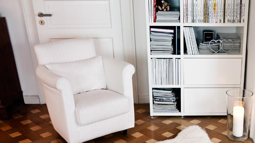 Kies voor een overal passende boekenkast wit | Westwing