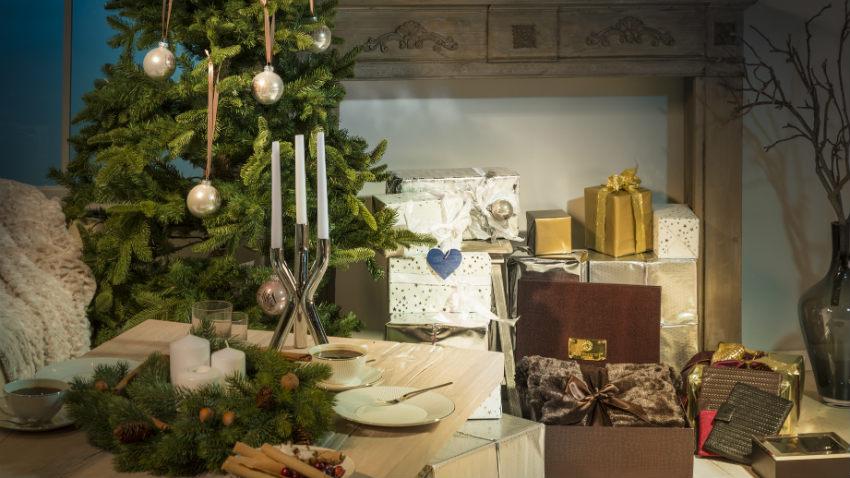 Brocante kerstboom