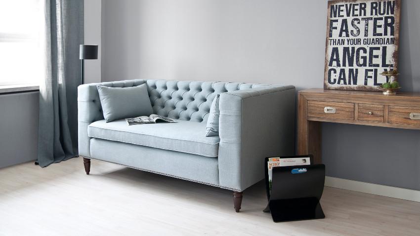 vind hier je chesterfield bank stof m t korting westwing. Black Bedroom Furniture Sets. Home Design Ideas