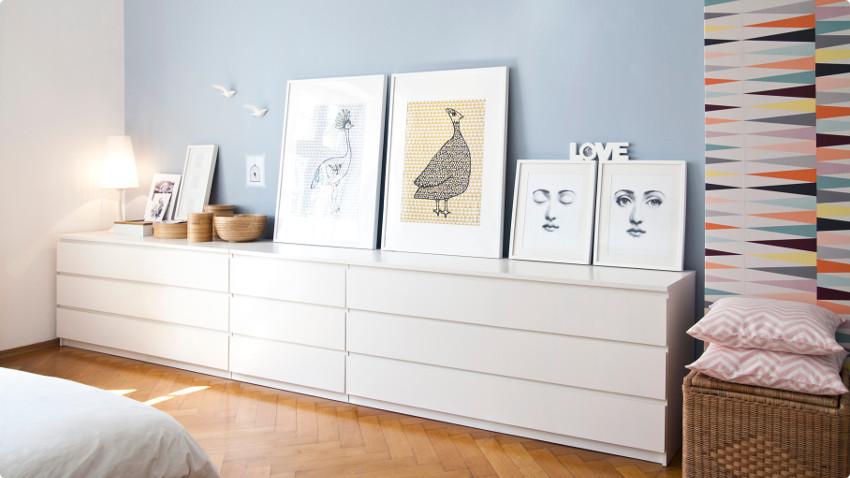 Een witte ladenkast voor een fris opgeruimd gevoel | Westwing