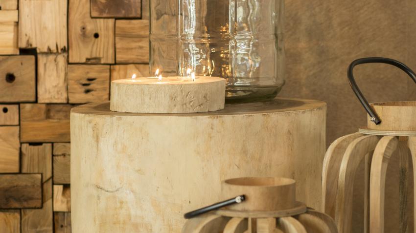 Een ruige extra touch de boomstam salontafel westwing for Boomstamschijven decoratie