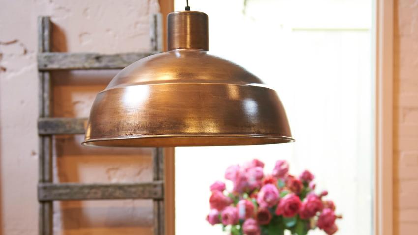 brocante hanglamp zorgt voor een landelijke sfeer westwing