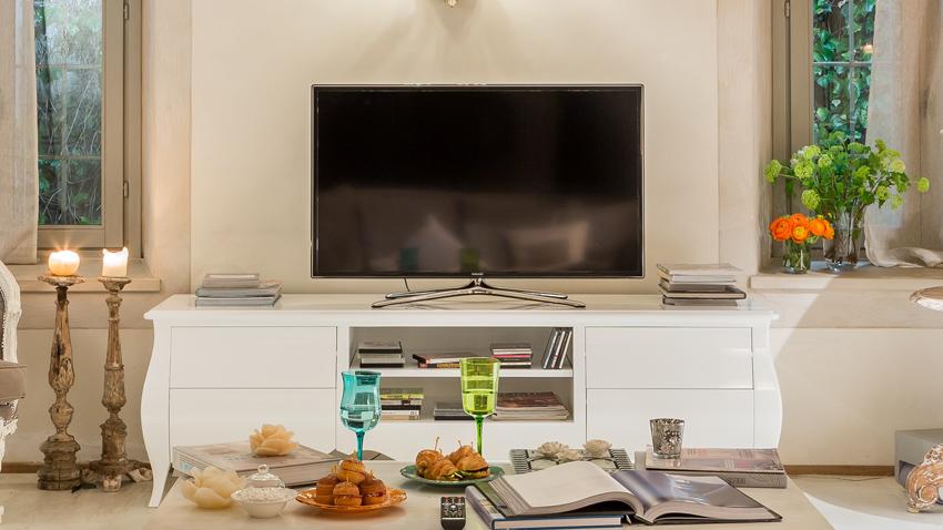 Grenen tv-meubel
