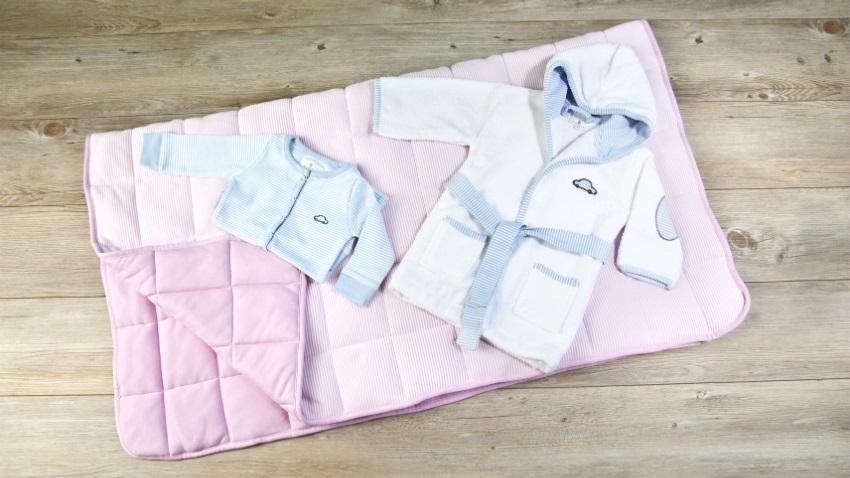 Baby fleece deken