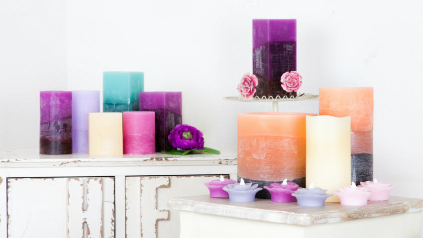 Paarse kaarsen
