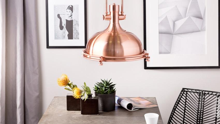 Shop je trendy vintage hanglamp hier met korting westwing - Trendy deco eetkamer ...