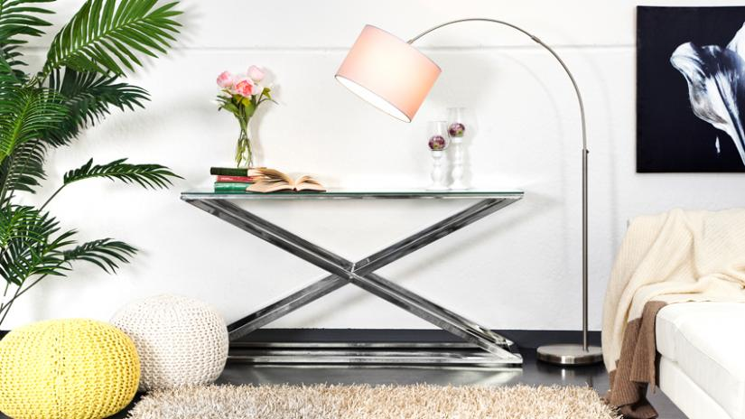 lampy podłogowe z wysięgnikiem