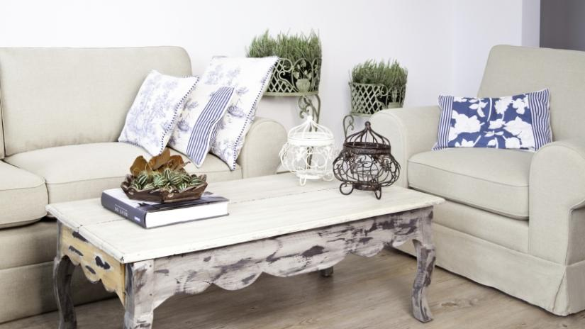 stoliki w stylu vintage