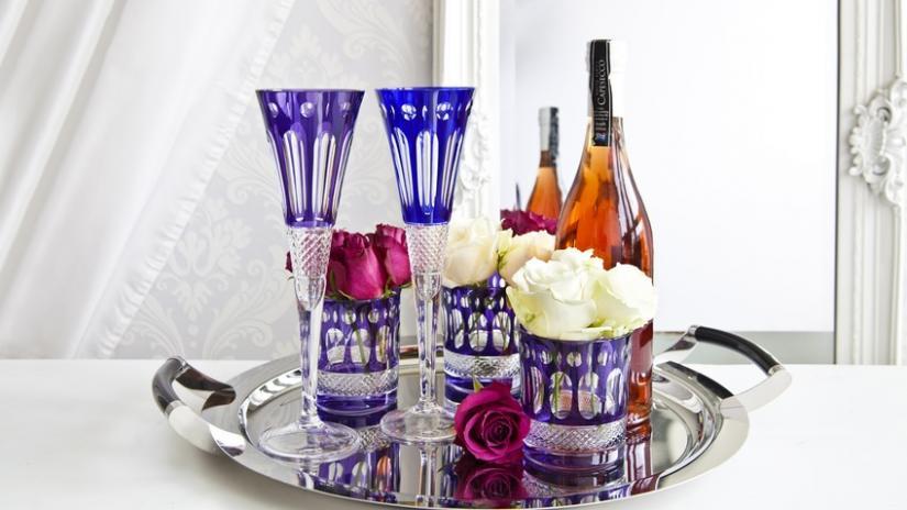 kieliszki do wina kolorowe
