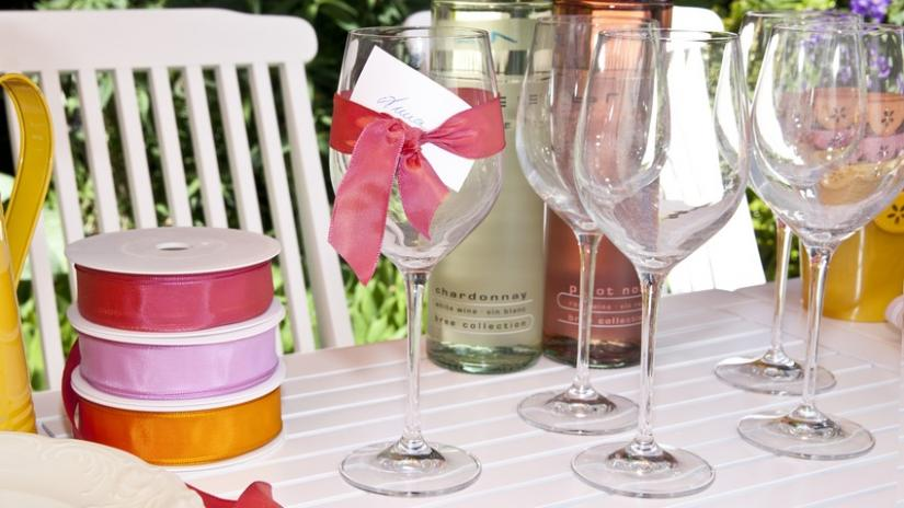 kieliszki do wina wysokie