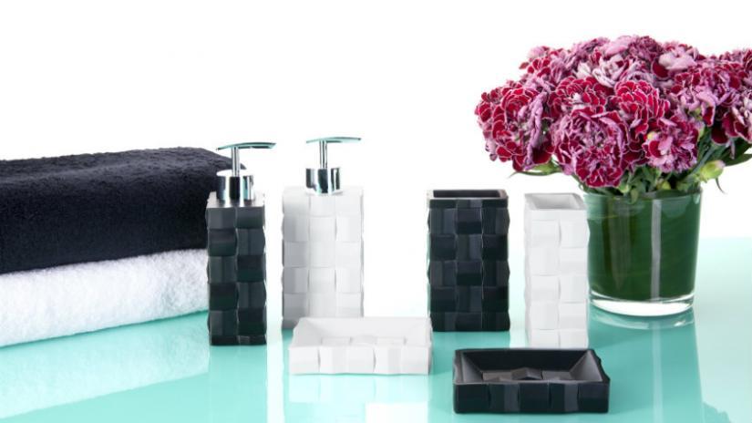 akcesoria łazienkowe w stylu nowoczesnym