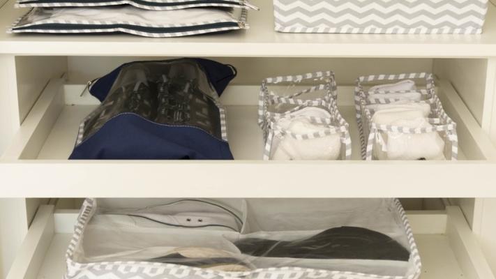 Garderoba półki