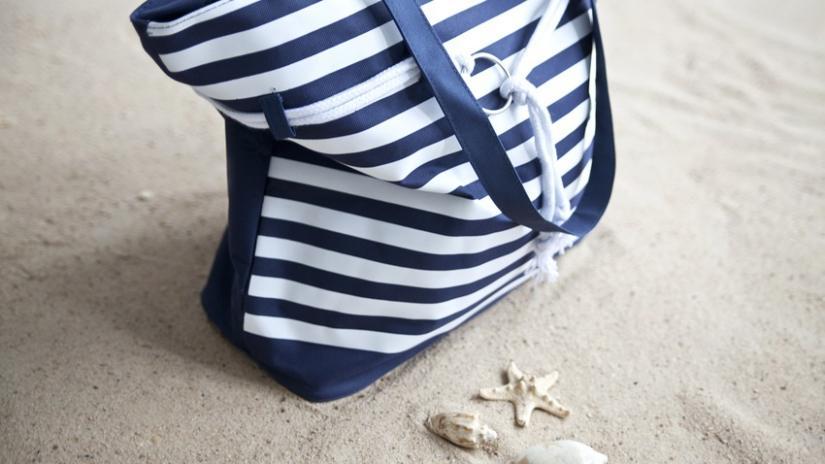 torba plażowa niebieska