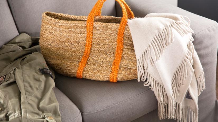 torba plażowa ze sznurka