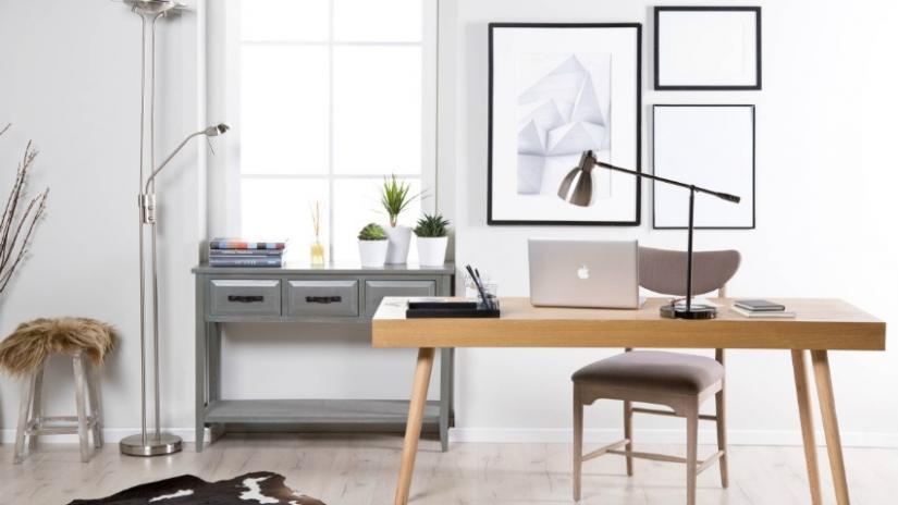 lampka na biurko metalowa