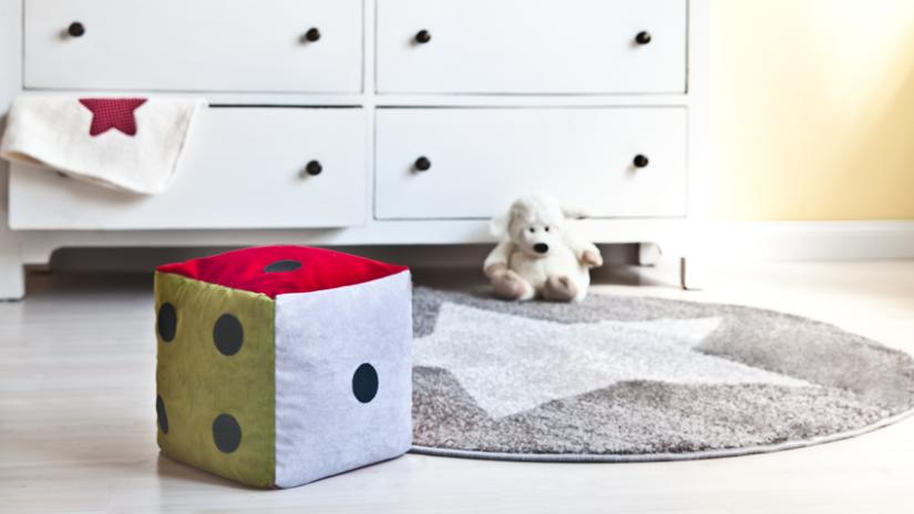 dywan dla dzieci okrągły