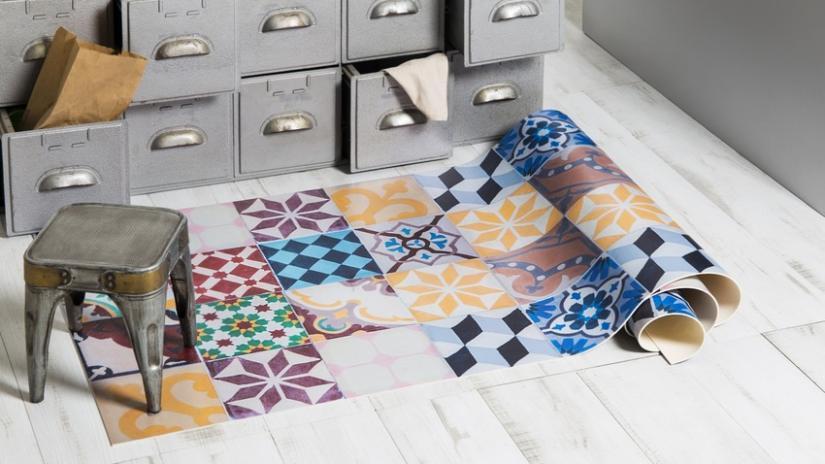 Chodniki dywanowe do ka dego mieszkania westwing for Suelo vinilico mosaico