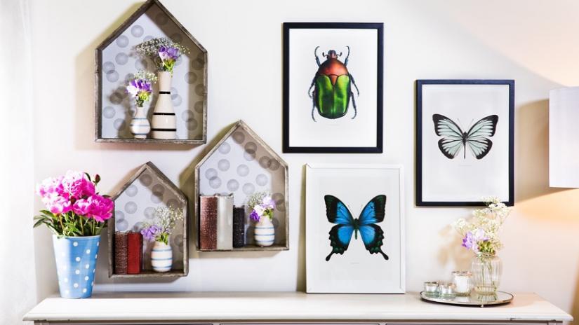 półki ścienne dekoracyjne