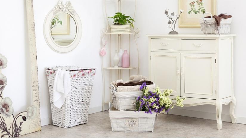 styl angielski w łazience