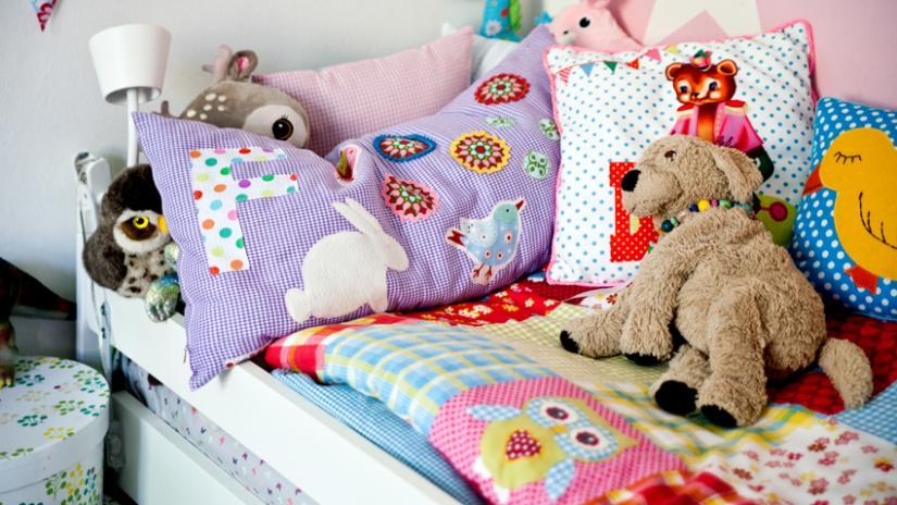 narzuta patchwork dziecięca