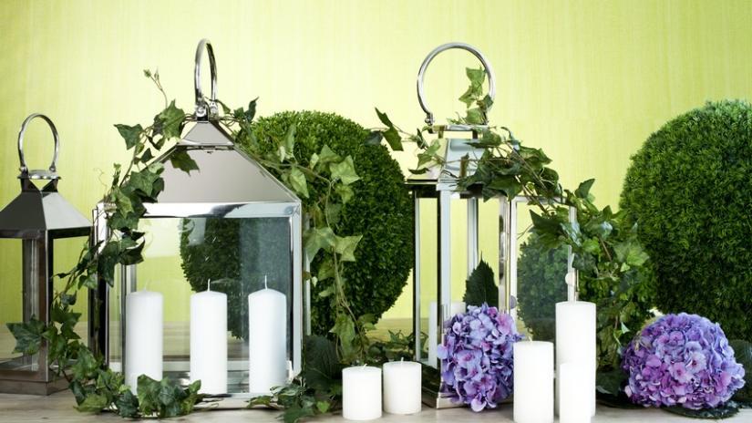 lampiony ogrodowe szklane