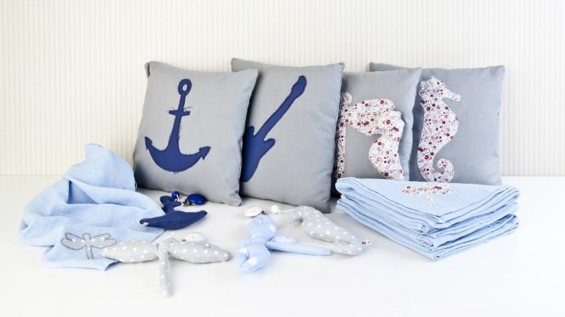 dekoracje marynistyczne do sypialni