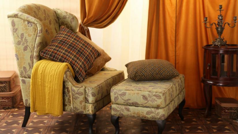 wypoczynkowe meble w stylu angielskim